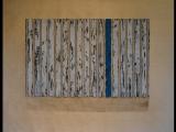 Jim Powlan white bars with blue