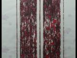 Jim Powlan bars on kimono silk